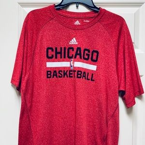 ADIDAS Chicago Basketball Climalite M Red